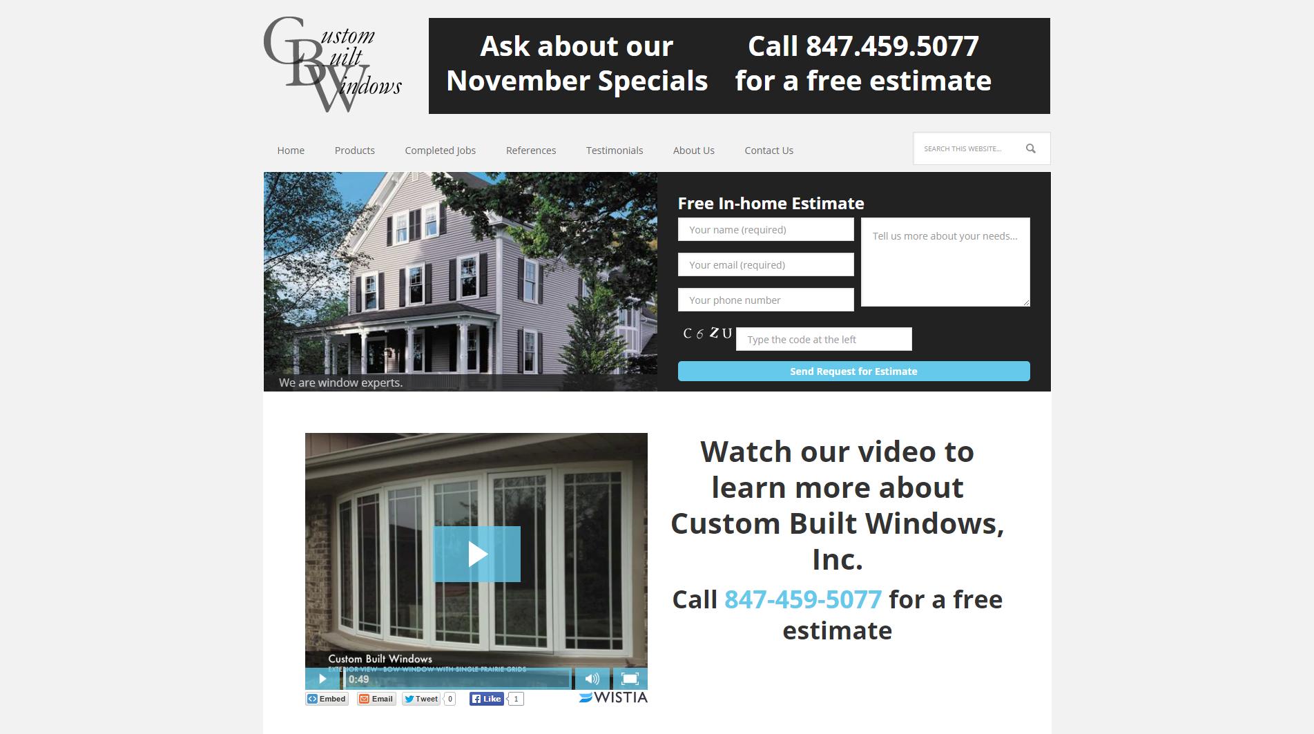 Home - Custom Built Windows Inc