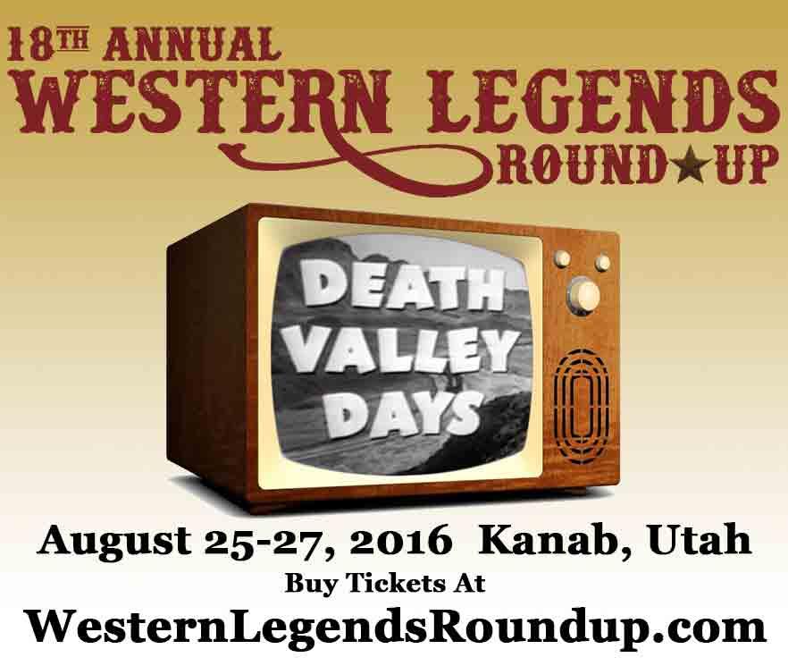 Western Legends Round-Up 2016 Theme Header Design