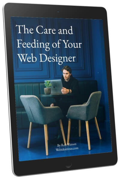 The Care and Feeding of Your Web Designer 1